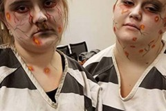 Halloween Town of CR infected inmates