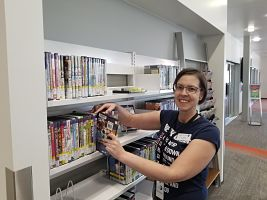 Volunteer at Parker Library