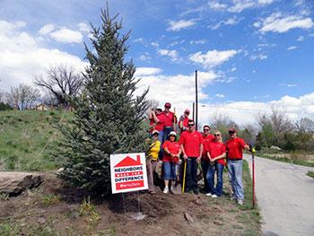 Castle Rock Volunteers in action