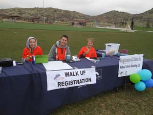 Individual Volunteers - Helping with registration
